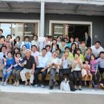 開所式には大勢の地域の方やワーカーズコープの組合員が集まり、開所を祝いました